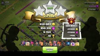Easy way to get a loot in champions league   Clash Of Clan   COC