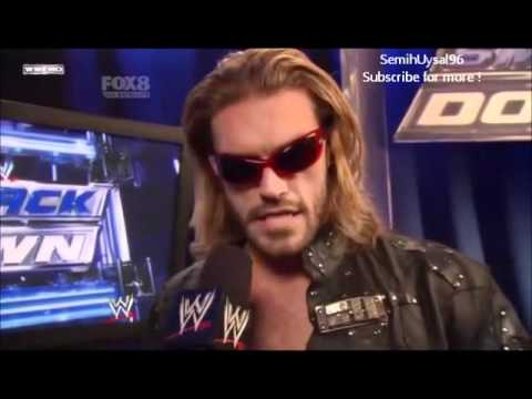 Edge Last Backstage Interview on WWE Smackdown