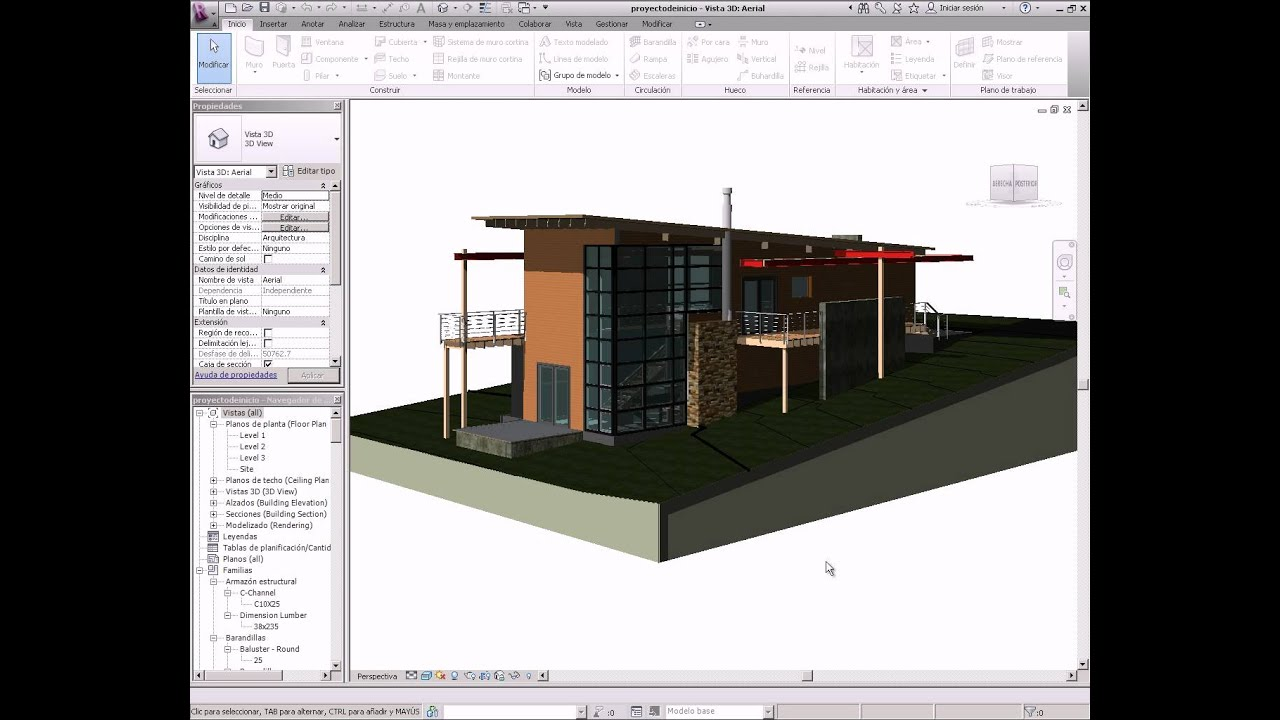 Revit Architecture 2012 101 Curso Online Youtube