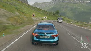 Forza Horizon 4 - 2016 Alfa Romeo Giulia Quadrifoglio Forza Edition Gameplay