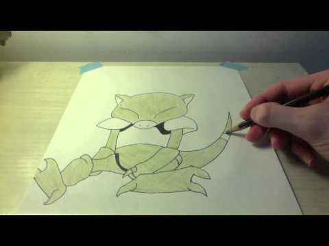 Drawing all the Pokemon: Number 63 Abra