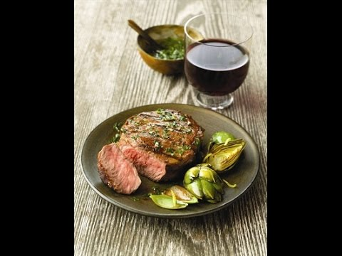 Labor Day Recipe - Chimichurri Strip Steak With Chef Nathan Lippy