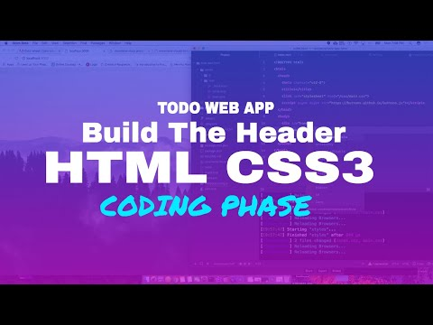 Lets Build the home page with HTML & CSS