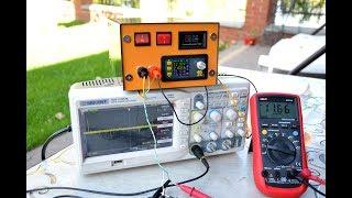Лабораторний блок живлення на DPS5005 налаштування та робота з навантаженням