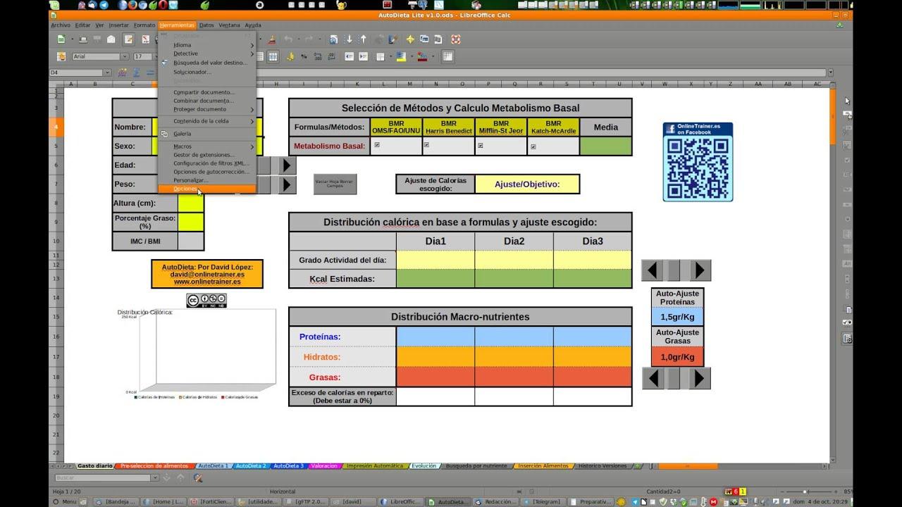 Activar macros en LibreOffice. Requisitos de las herramientas de ...