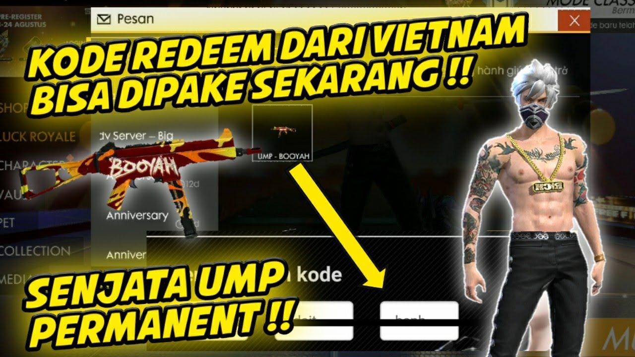 KODE REDEEM UMP BOOYAH PERMANENT !! Player Gratisan Buruan ...