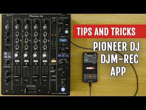 Pioneer DJ's DJM-REC App Review | Tips and Tricks