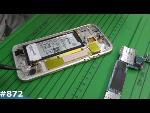 Замена дисплея Samsung Galaxy A5 2017 SM-A520F (Полный разбор, замена дисплейного модуля)