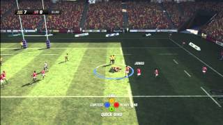 Rugby Challenge 2 Gameplay Australia Vs Lions (Requested Fixture) HD