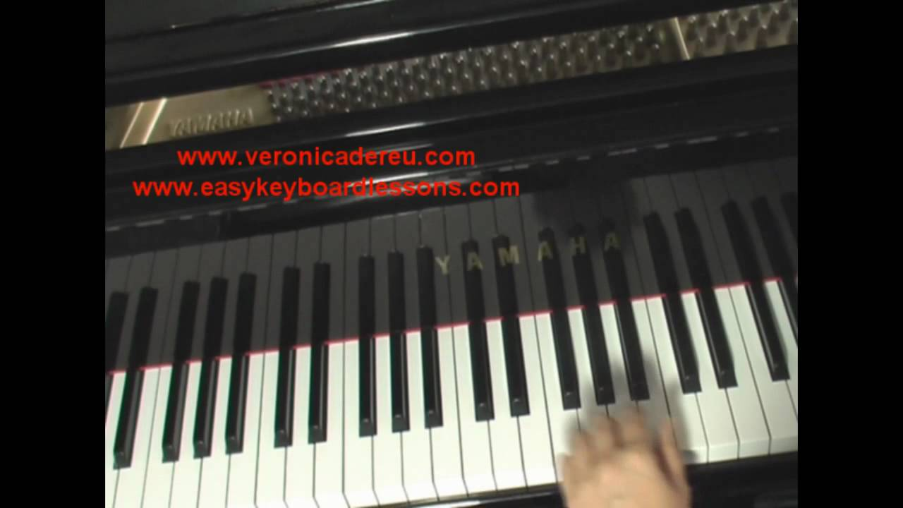 How to play a b major chord on piano or keyboard youtube hexwebz Gallery