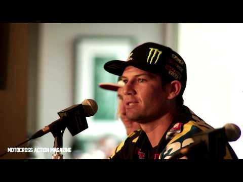 2013 Anaheim Supercross Chad Reed uncut Interview-Motocross Action Magazine
