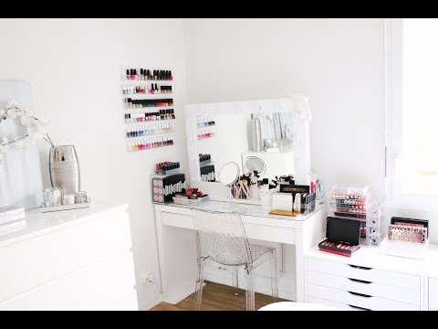 Mon Rangement / Ma Collection de Makeup 2016 - Makeup Collection / Organisation