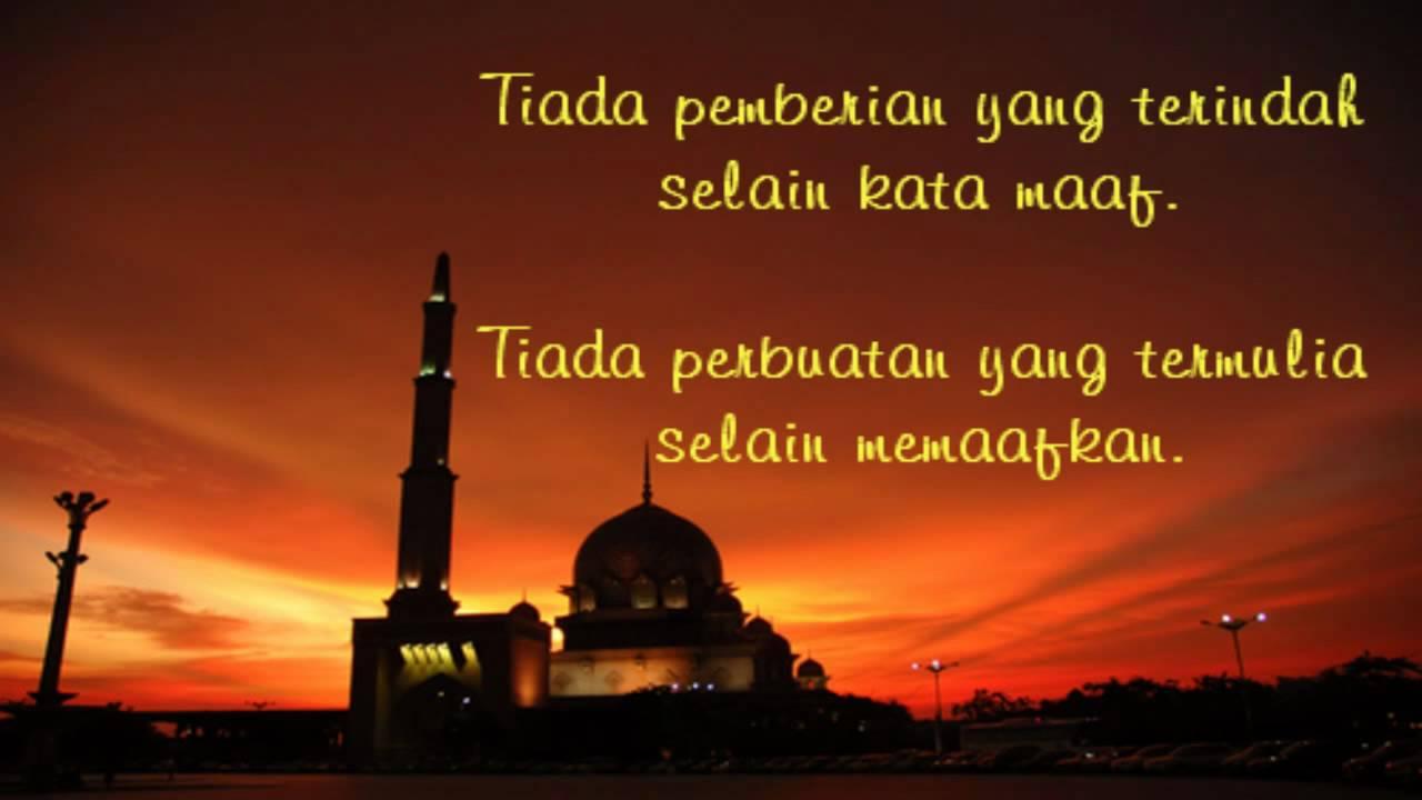 Selamat Hari Raya Idul Fitri Youtube