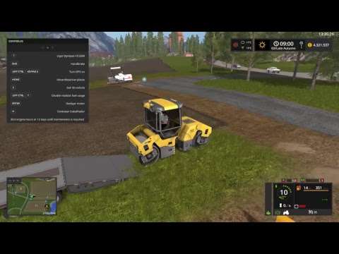 Mining and construction economy map How to Asphalt a Road - mod pack part 2
