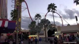Halloween Horror Nights 2013 Complete Walkthrough - Universal Studios Florida - Orlando