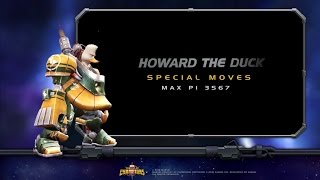 Howard the Duck Special Moves | Marvel Contes...