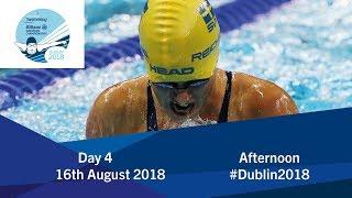 Day 4 Evening   2018 World Para Swimming Allianz European Championships thumbnail