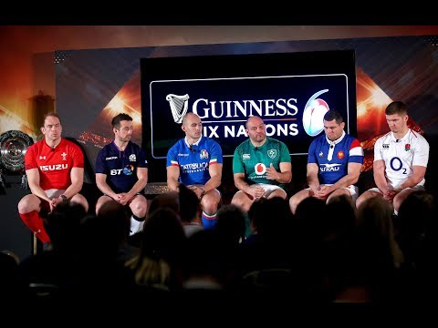 Watch: The Guinness Six Nations captains Q&A 2019 | Guinness Six Nations