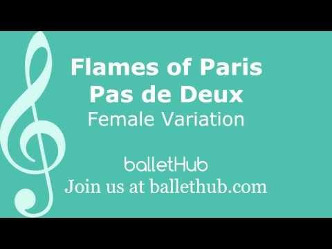 Flames of Paris Pas de Deux - Female Variation - Ballet Music
