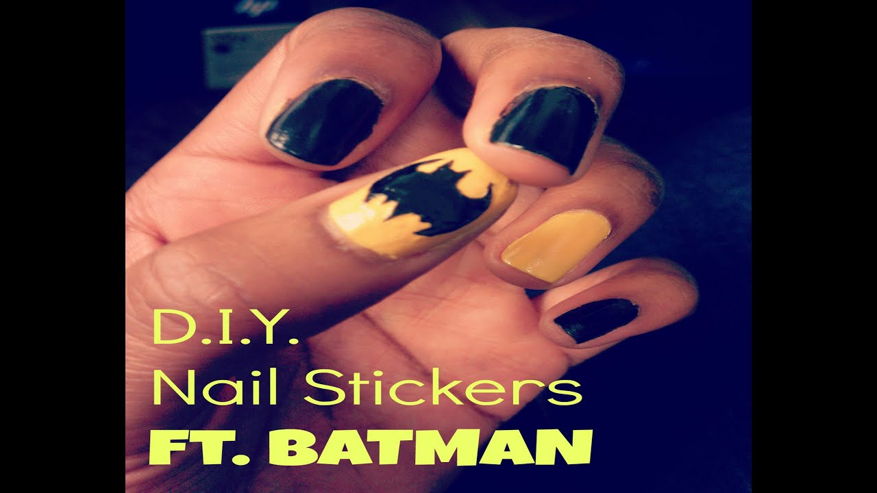 how to make diy nail decals