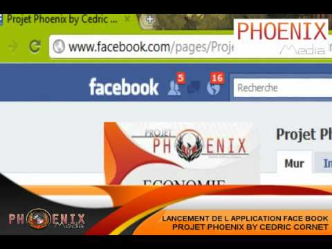 Application Projet Phoenix by Cédric Cornet [Phoenix-Média]
