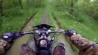 Обзор мотоцикла Motoland MX 250. Опыт эксплуатации. Тест драйв по грязи.