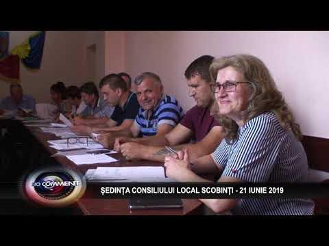 SEDINTA CONSILIULUI LOCAL SCOBINTI - 21 IUNIE 2019