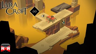 Lara Croft GO - The Maze of Spirits - iOS / Android - Walkthrough Gameplay Part 3