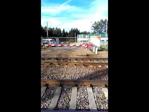 Фирсановка. Открыт опасный переезд через железную дорогу
