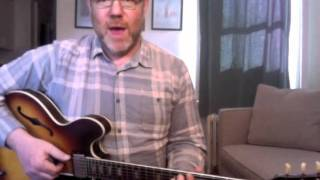 50 Low-Down Rhythm Licks - #7 Walking Blues A Minor - Guitar Lesson - Adam Levy