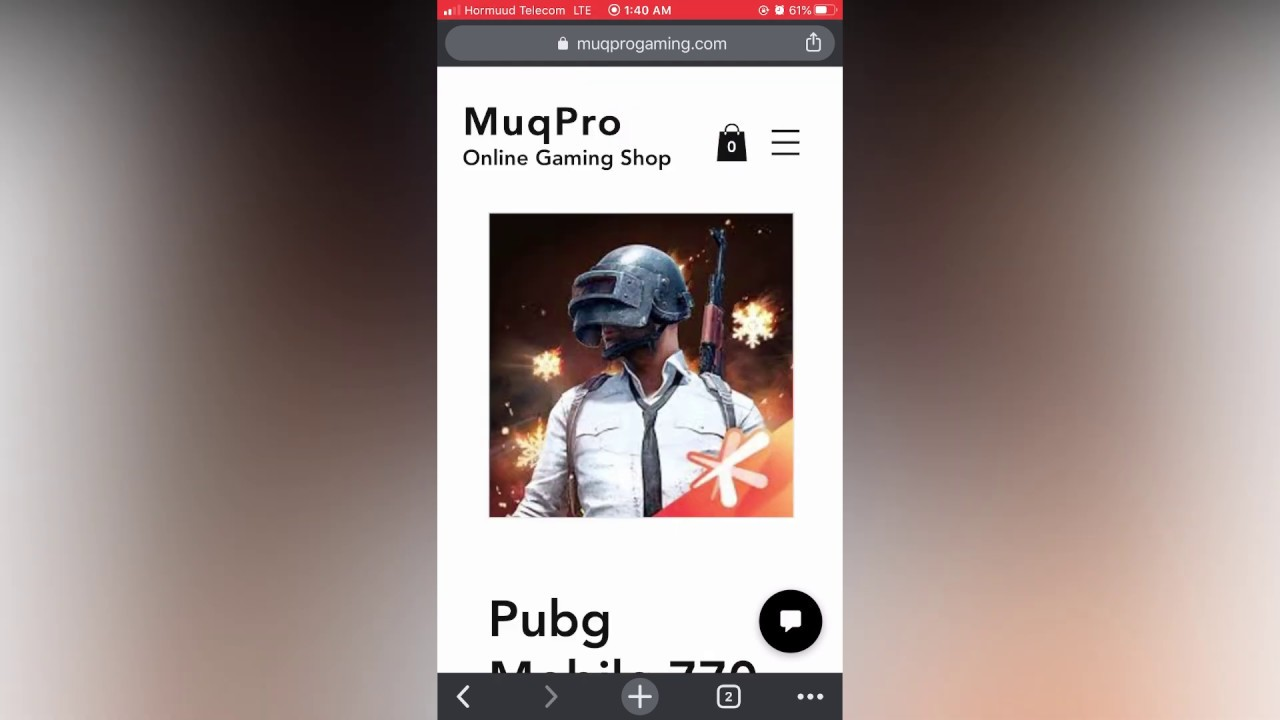 Qaabka Loo Gato Pubg Mobile UC Global MuqPro Online Gaming Website