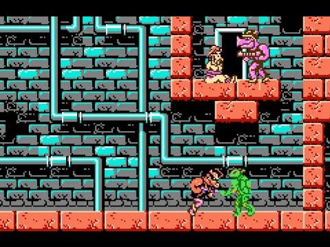 TEENAGE MUTANT NINJA TURTLES - Ultra Software Corporation / Konami 1989 (Nes)
