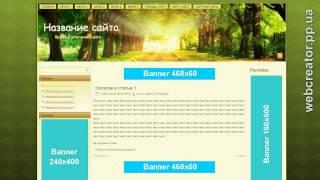 видео Как адаптировать шаблон WordPress с 3 колонками