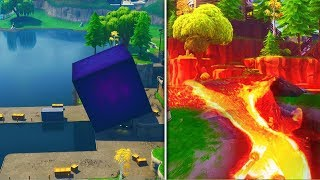 FORTNITE CUBE IS ALMOST AT LOOT LAKE! CUBE EVENT LIVE COUNTDOWN!
