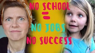 I'M LAZY & NEGLECTFUL | THE TRUTH ABOUT UNSCHOOLING