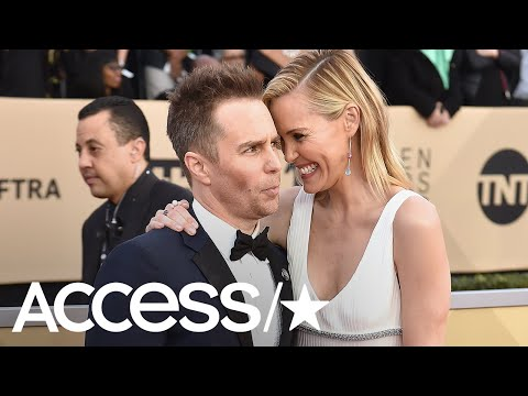 Sam Rockwell & Leslie Bibb Might Be The Cutest Couple At The 2018 Sag Awards!  Access