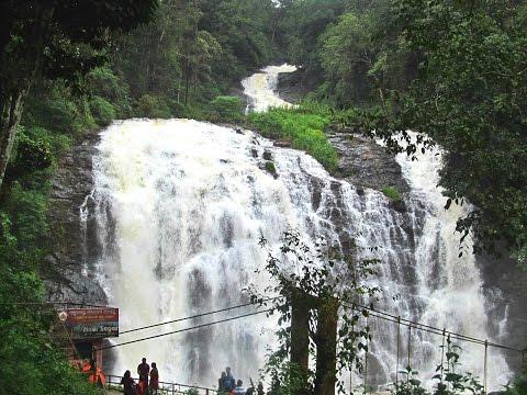 ABBEY FALLS Madikeri COORG KARNATAKA on River Kaveri in Monsoon!!
