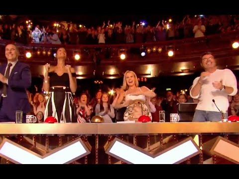 Sarah Ikumu Gets Simon Cowell GOLDEN BUZZER | Ep 01 | Britain's Got Talent 2017