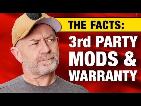 The truth about aftermarket modifications and voiding your new car warranty | Auto Expert John Cadog