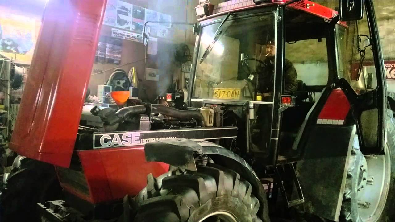 Case Ih 956 Xl First Start After Gearbox Repair