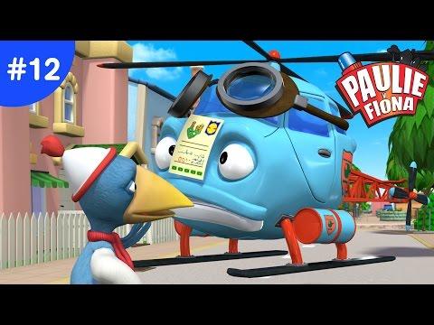 Paulie y Fiona 2 | 12 La Farsa Policial | Caricaturas para Niños | Caricaturas en Español