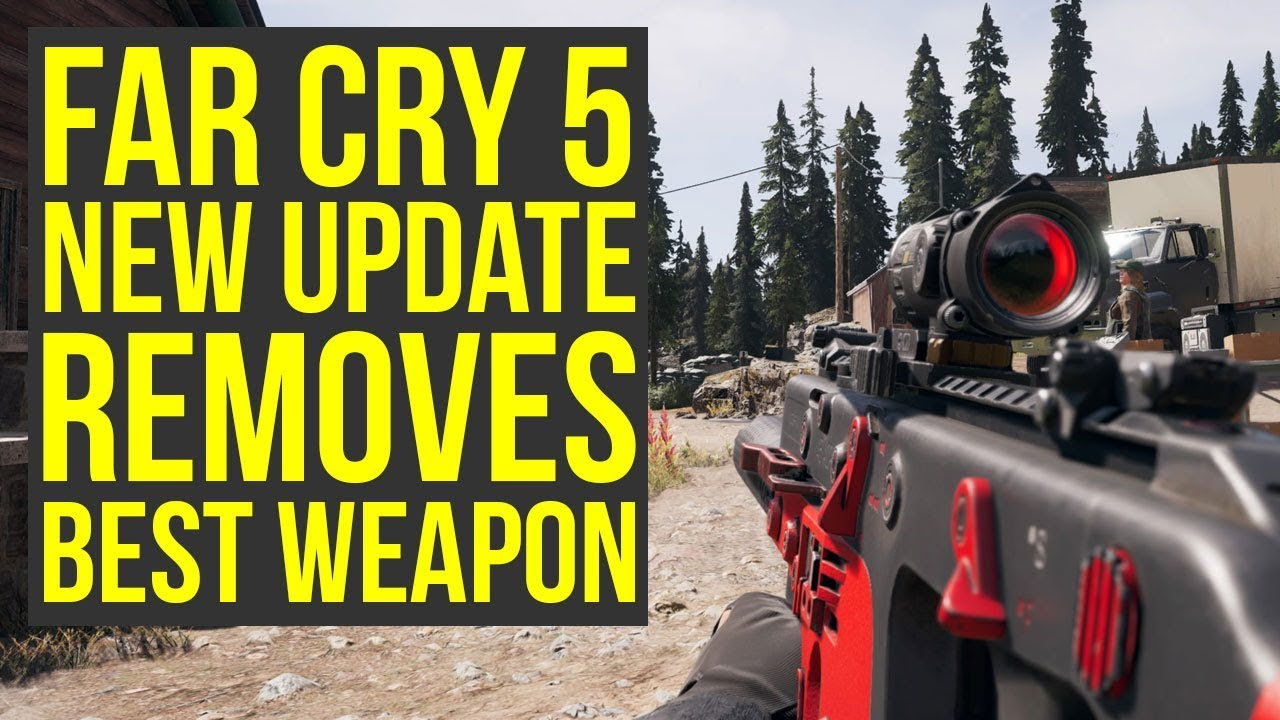 best weapons in far cry 5