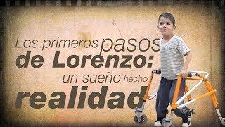 Los primeros pasos de Lorenzo: un sueño hecho realidad