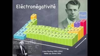 C.3.3.1. Polarité des liaisons covalentes et électronégativité des éléments