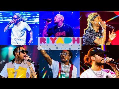 Riyadh Season 2019-2020 ( 7 Artists ) HD