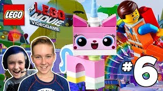 The LEGO Movie Videogame Gameplay Walkthrough Part 6 - Cloud Cuckoo Land with UniKitty