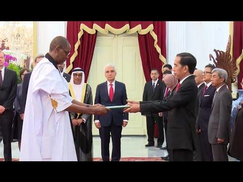 Presiden Joko Widodo Menerima Kredensial Duta Besar Untuk Republik Indonesia