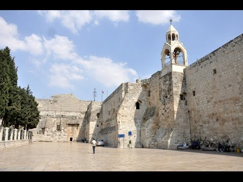 Church of the Nativity, Bethlehem, West Bank, Palestinian Territories, Middle East, Asia
