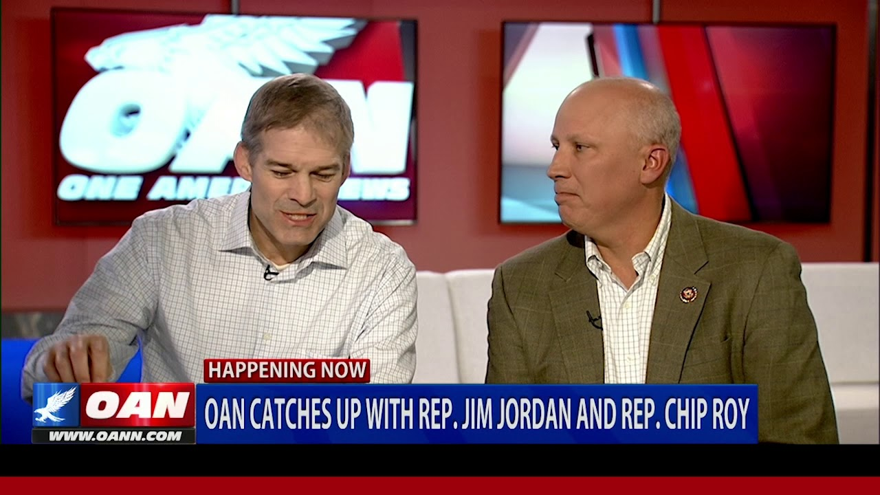 OAN catches up with Rep. Jim Jordan & Rep. Chip Roy (PART 1)