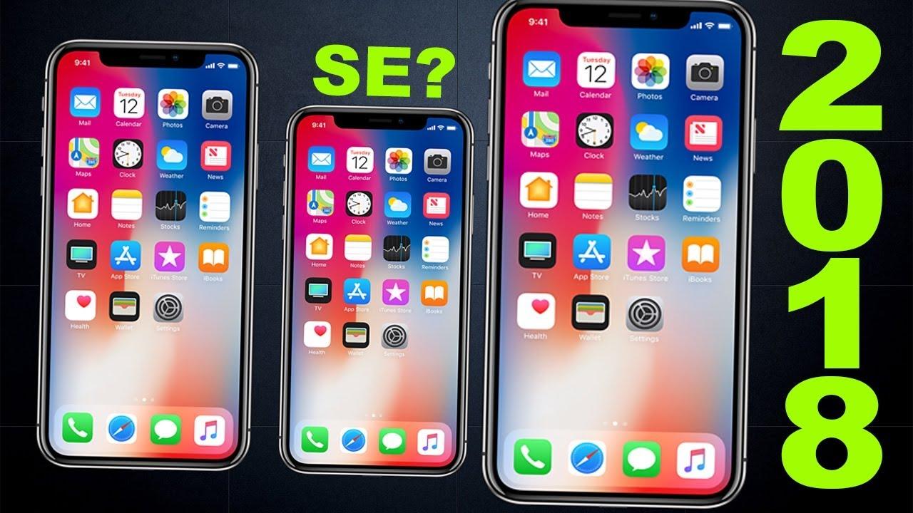 LEAKED 2018 IPhone Data Already